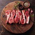 Lamb Loin Chops, Lamb Leg Steaks, Leg of Lamb Bone In