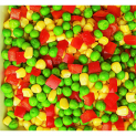 pea-corn-pepper mix, frozen