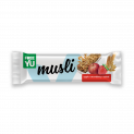 FreeYu musli bar with apple and strawberry