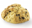 Scone with chocolate chips