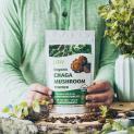 Organic Chaga Mushroom Air-Dried Powder