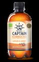 The GUTsy Captain Kombucha Core Ginger & Lemon