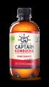 The GUTsy Captain Kombucha Core Pomegranate