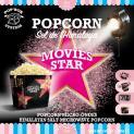 MICROWAVE POPCORN -  POP UP  BOX- HIMALAYAN SALT