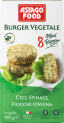 Frozen Vegan Burgers - Chickpea, Spinach and Oat
