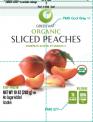 IQF Organic Sliced Peaches