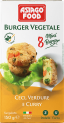 Frozen Vegan Burgers - Chickpea, Vegetables and Curry