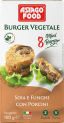 Frozen Vegan Burgers - Soy and Mushrooms with Porcini