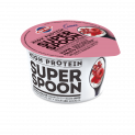 High protein authentic Greek strained yogurt 0% with super fruits