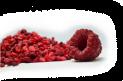 Raspberries crumble