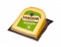 Gouda cheese wedges vacuum