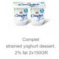 Straned Yogurt Dessert 2% Fat