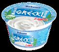 Natural Greek type yogurt light 180g