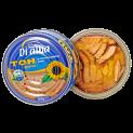 Tuna Fillets in Sunflower Oil with Transperant easypeel lid
