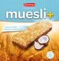 Muesli+ cereal bar - Coconut/Milk chocolate