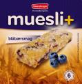Muesli+ cereal bar - Blueberry