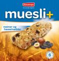 Muesli+ cereal bar - Raisins