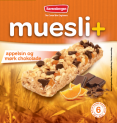 Muesli+ cereal bar - Orange / Dark chocolate