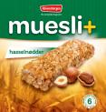 Muesli+ cereal bar - Hazelnut