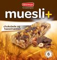Muesli+ cereal bar - Chocolate & Hazelnuts