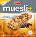 Muesli+ cereal bar - Liquorice & Milk chocolate