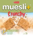 Muesli+ Crunchy granola bar - Ginger