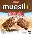 Muesli+ Crunchy granola bar - Chocolate