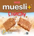 Muesli+ Crunchy granola bar - Cinnamon