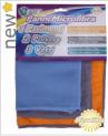 3 Microfibre Cloths Set