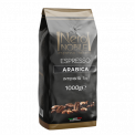 Roasted coffee beans blend, Arabica