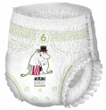Pull up pants diapers / nappies Muumi Baby size 6 small package