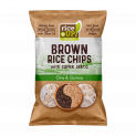 Brown Whole Grain Rice Chips with Super Seeds Chia & Quinoa