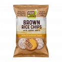Brown Whole Grain Rice Chips with Super Seeds Millet & Sunflower Seeds