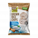 Brown Whole Grain Rice Chips with Sea Salt & Black Pepper