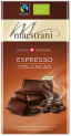Maestrani Swiss Organic Chocolate Espresso & 72% Cacao