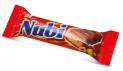 Milky Compound Chocolate Coated Bar with Hazelnut, Caramel and Nougat