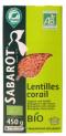 Organic red Lentils