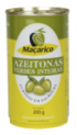 Tin Green Olives