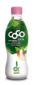 coco juice green tea and white peach