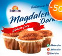 Gluten Free Magdalena