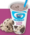 FREAL MILKSHAKE COOKIE AND CREAM
