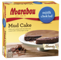Mud cake with Marabou milkchocolate