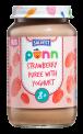 Põnn Strawberry puree with yoghurt 200 g