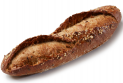 Rustic cereals seeded demi baguette 140g