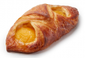 Apricot and Vanilla Cream Pastry 130g (butter dough)