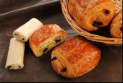 Pain au chocolat prépoussé butter 70g raw