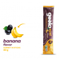 banana flavor sorbet in stick 80 g