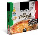 Pizza aux fromages sans gluten