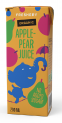 Organic Apple-Pear Juice 200 ml with straw