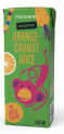 Organic Orange-Carrot Juice 200ml with straw